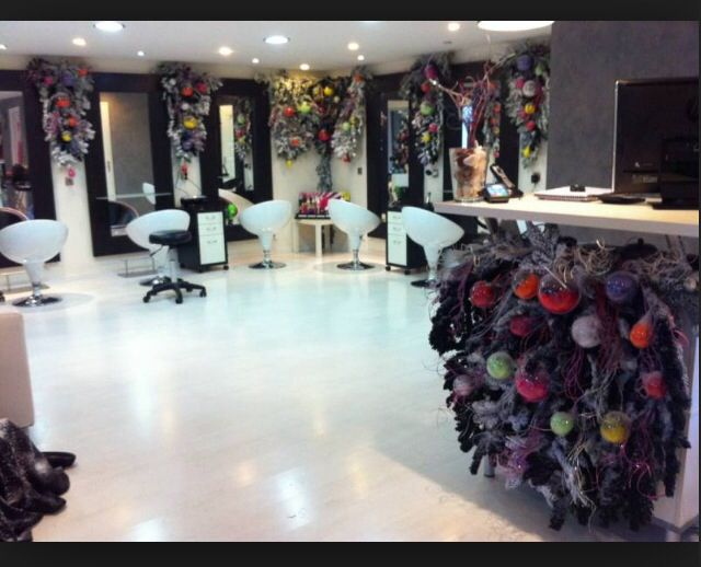 Bien original ;) Decoration salon de coiffure
