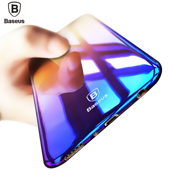 Baseus Brand Luxury Case For Samsung Galaxy S8   S8 Plus Aurora Gradient  Color Transparent Hard PC Cover For Galaxy S8 S 8 Plus   Price   11.98    FREE ... bec1dd1dbc31