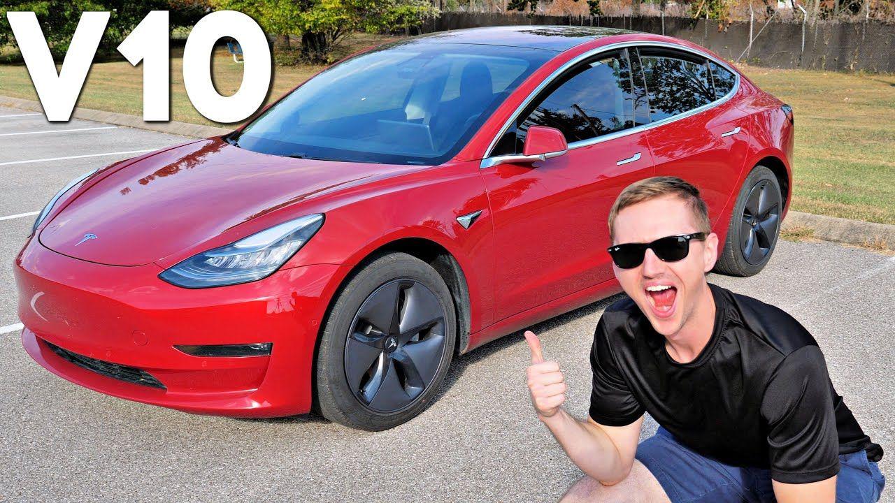 Tesla's BIGGEST Software Update Ever V10 Review