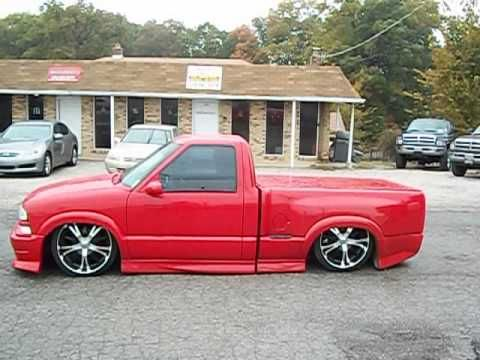 Chevy Xtreme S10 Custom Bagged Air Ride Low Rider 20 Wheels