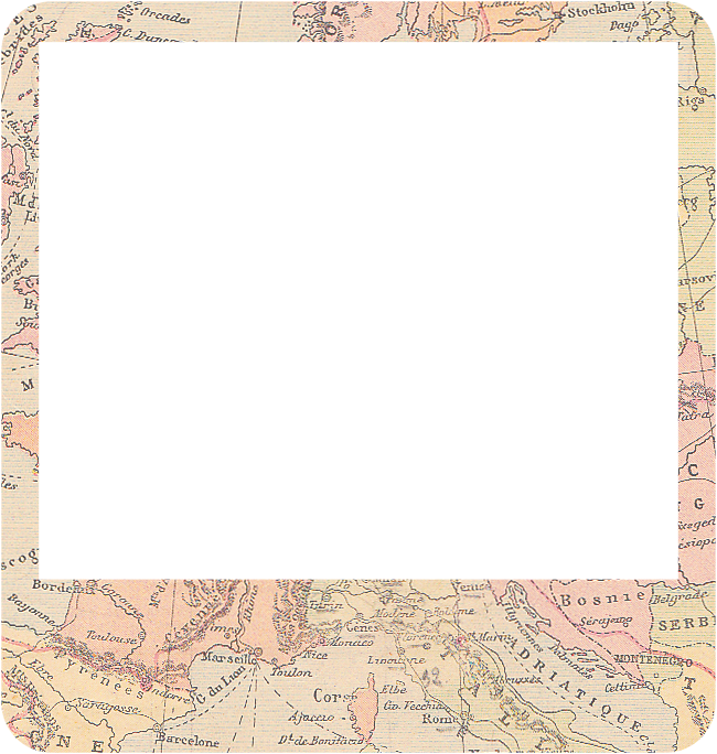 shabby blogs free vintage map digital frames
