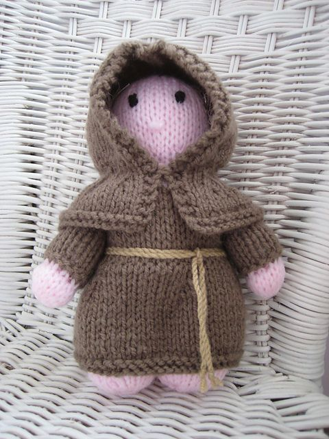 A mini-monk for a mini-Monk | knitting ideas | Pinterest