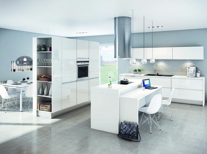 Idée déco pour cuisine ouverte salon - équipement de maison