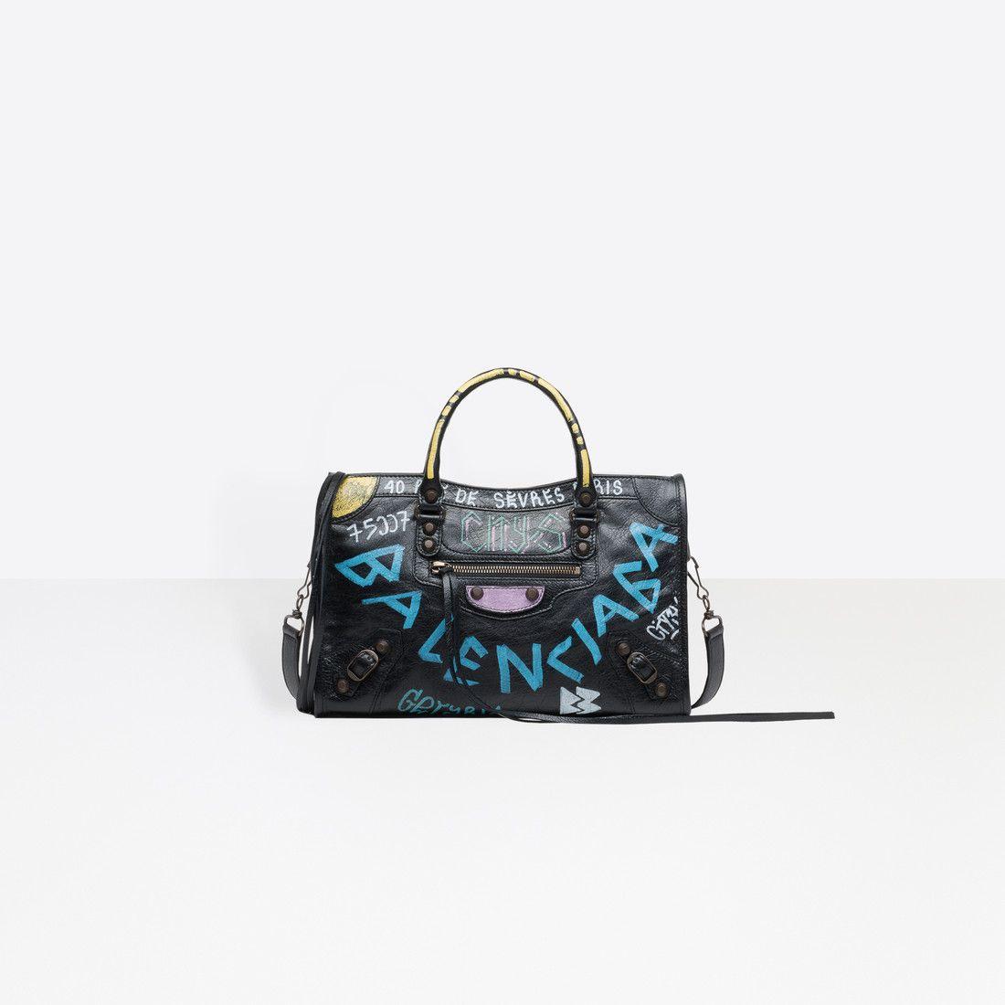 Classic City Small Shoulder Bag Black For Women Balenciaga Black Leather Handbags Small Shoulder Bag Lambskin Chanel Bag
