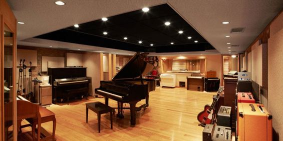 The Live Room At Strange Weather Studios Brooklyn Ny Via Home Recording