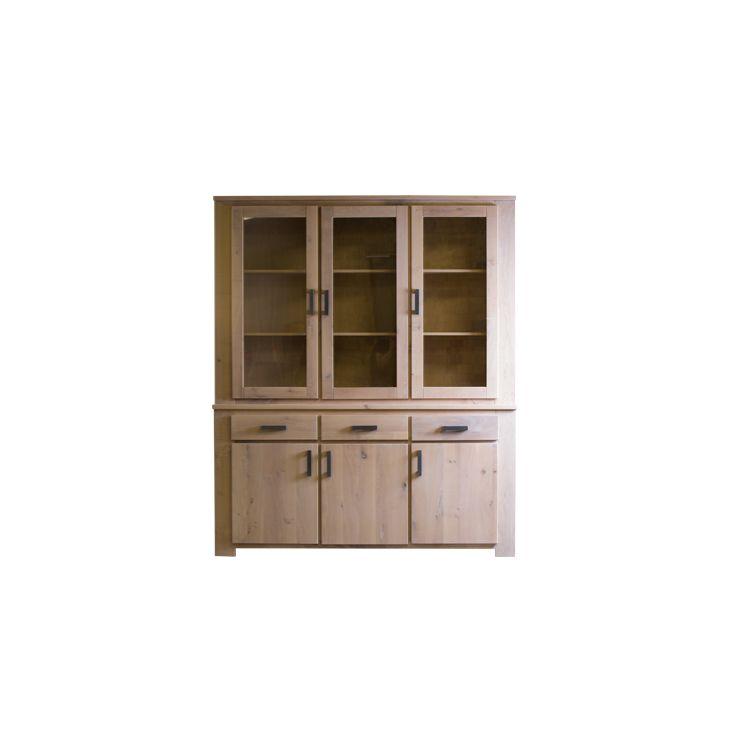 Meubitrend, wandkast, Rio Verde, glas, eiken, hout, deuren, stijl ...