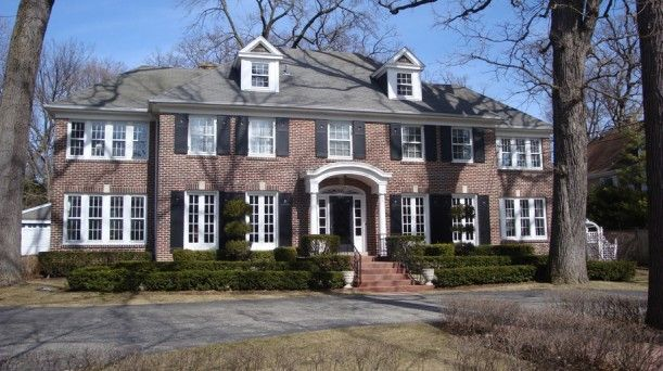 the real quothome alonequot house in winnetka illinois tv