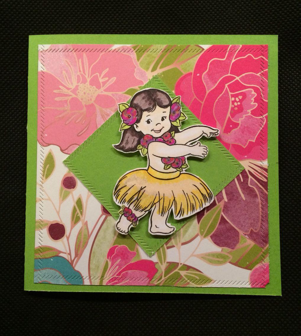 födelsedagskort utskrift Födelsedagskort till Maria. Festen har Hawaii tema Utskrift  födelsedagskort utskrift