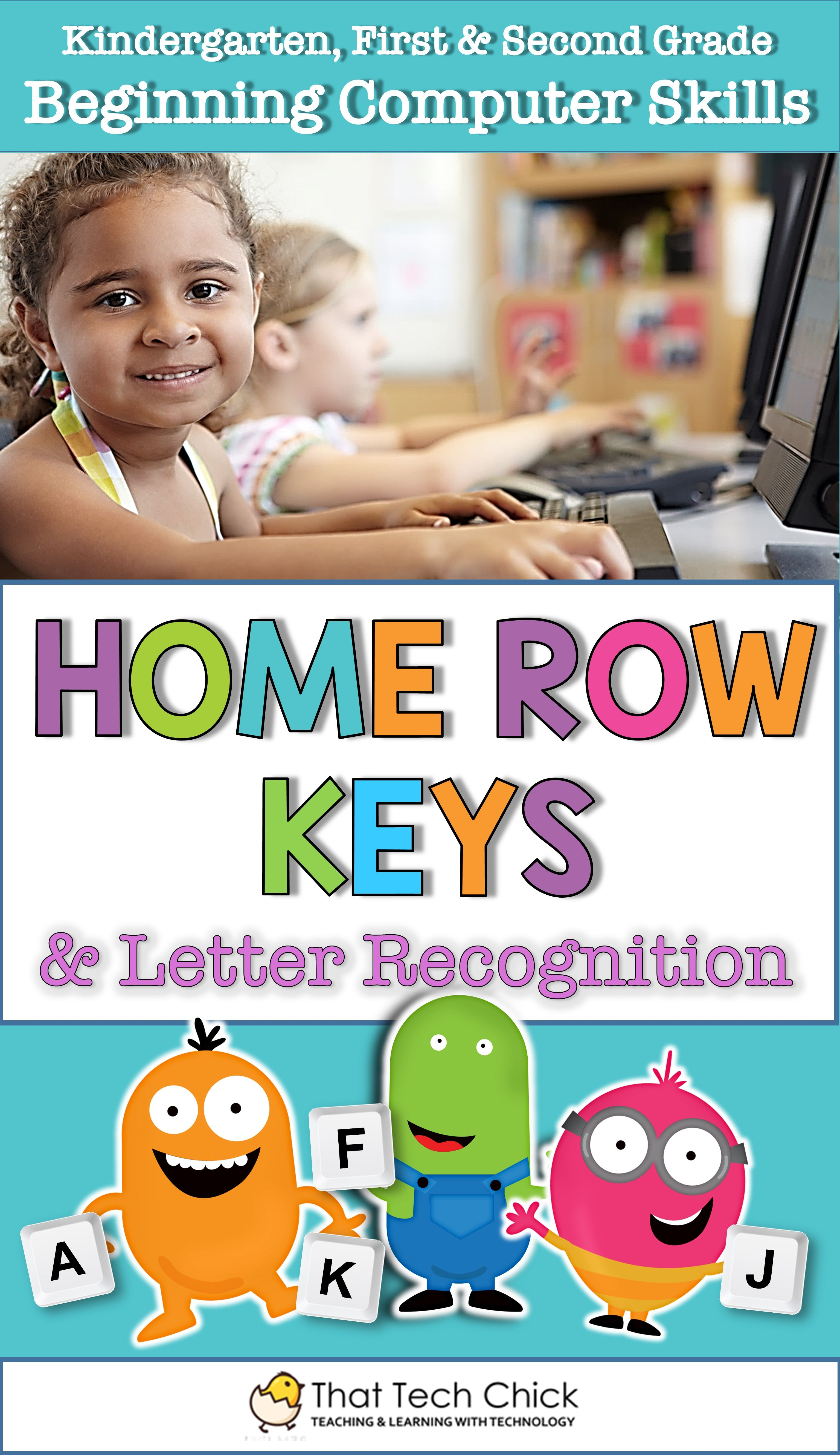 Beginning Computer Skills Home Row Keys And Letter
