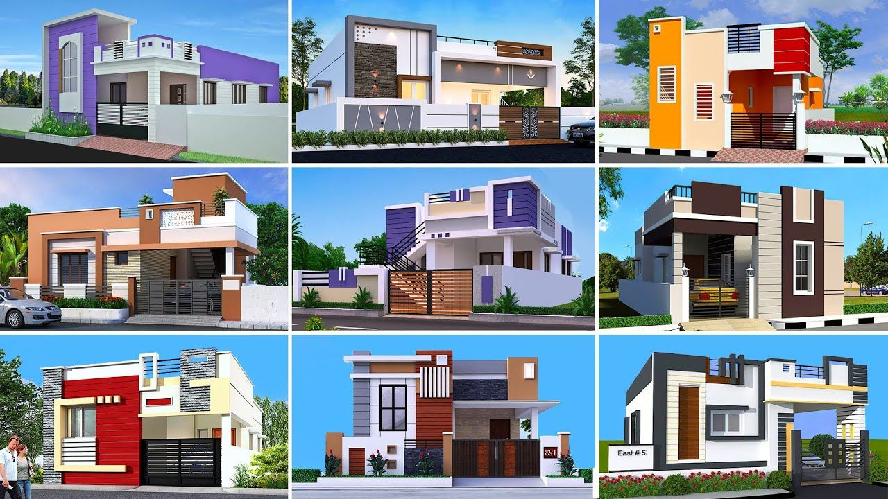 30 Most Attractive Small House Front Elevation Designs 2021 Simple Hou In 2021 House Front Design Small House Front Design House Front