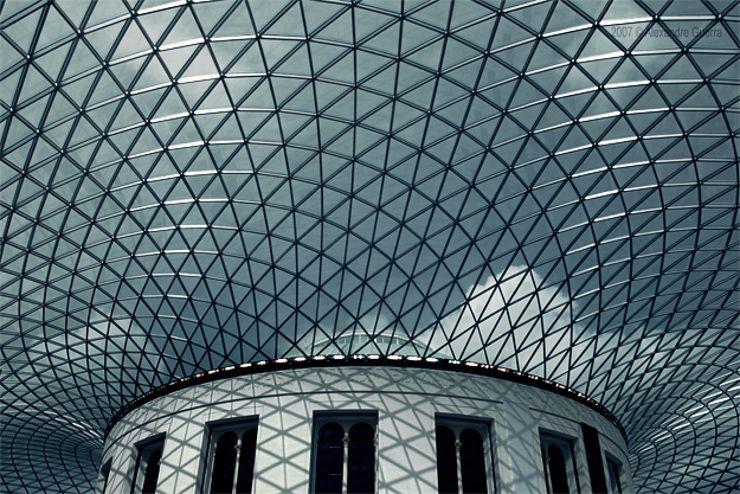 British Museum S Great Court London Architecture Ceiling Design Architecture Details