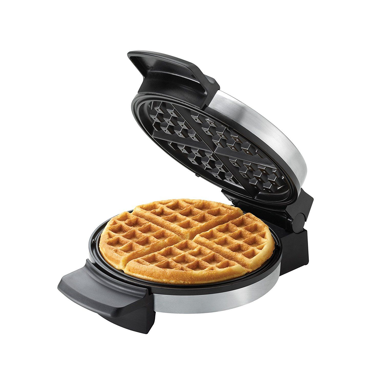 NEW BLACK+DECKER Belgian Waffle Maker Stainless Steel WMB500 FREE SHIPPING