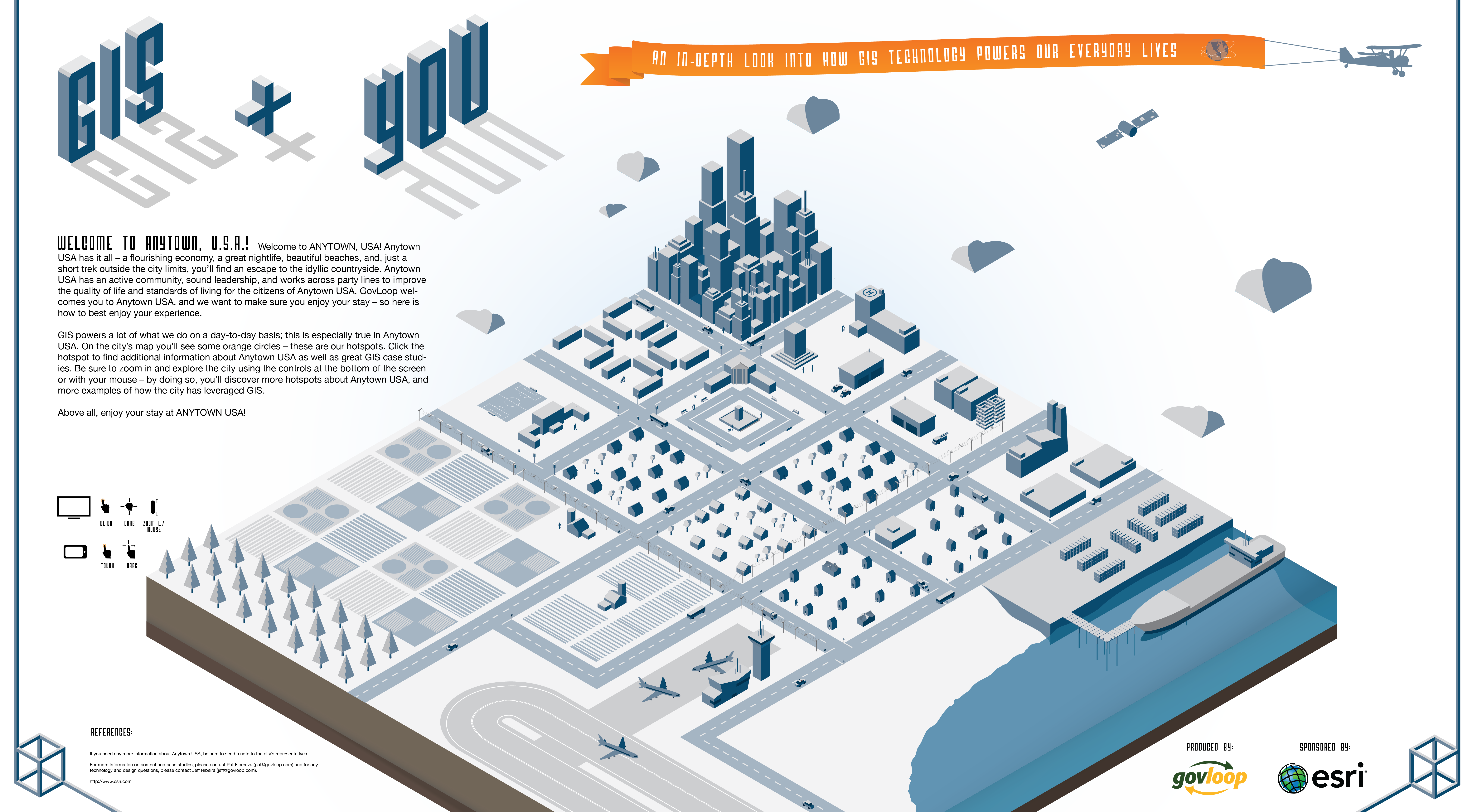 Infographic The Power Of Gis By Our Awesome Govloop Team Interactive Infographic Infographic Data Visualization