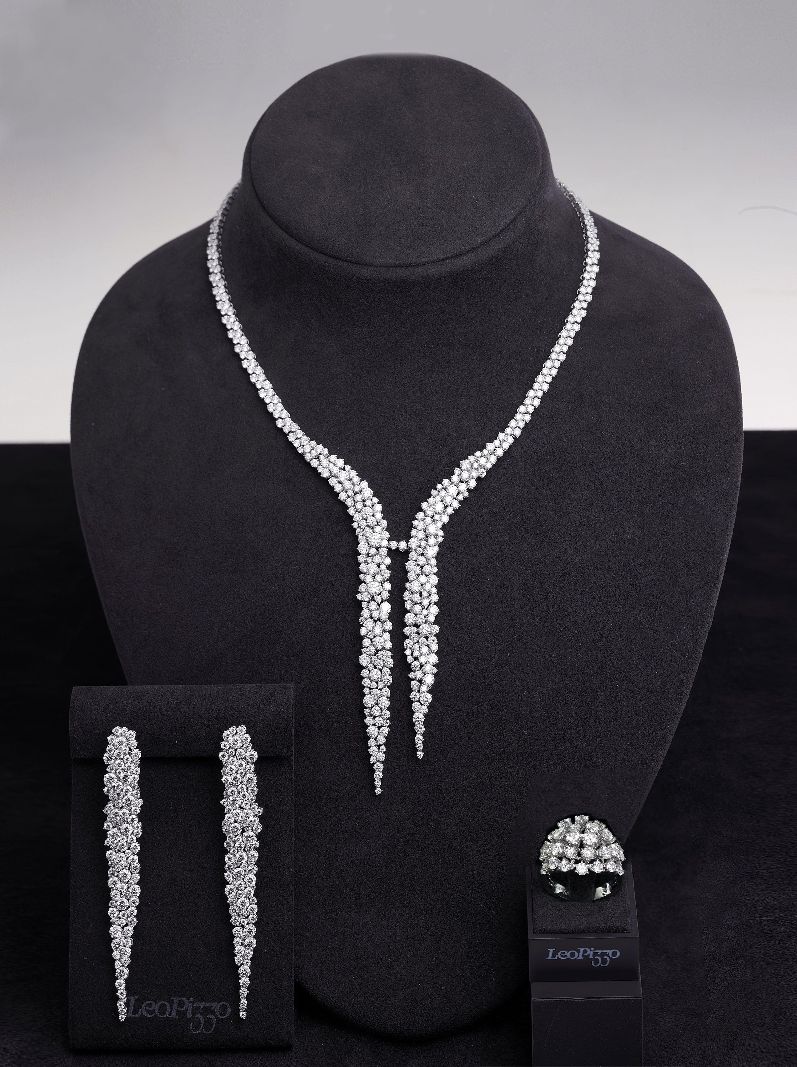 Schmuckset Collier orecchini collana Colori Oro Gioielli Da Sposa Gioielli Design Nuovo