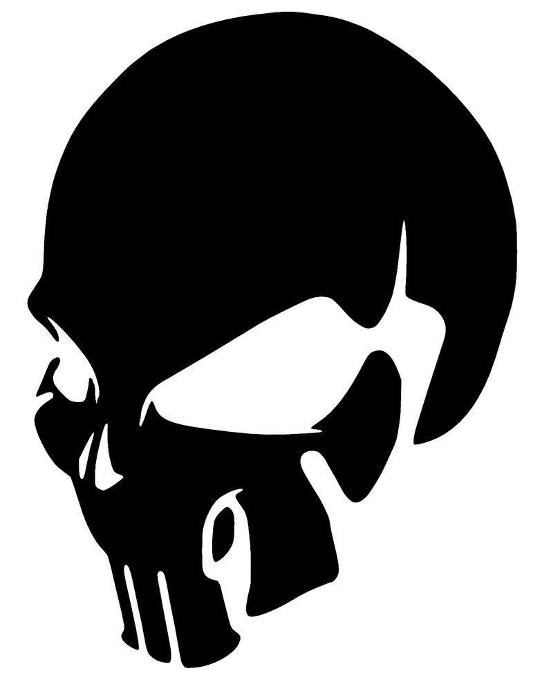 Details about SKULL Punisher Vinyl Decal Sticker Window ...