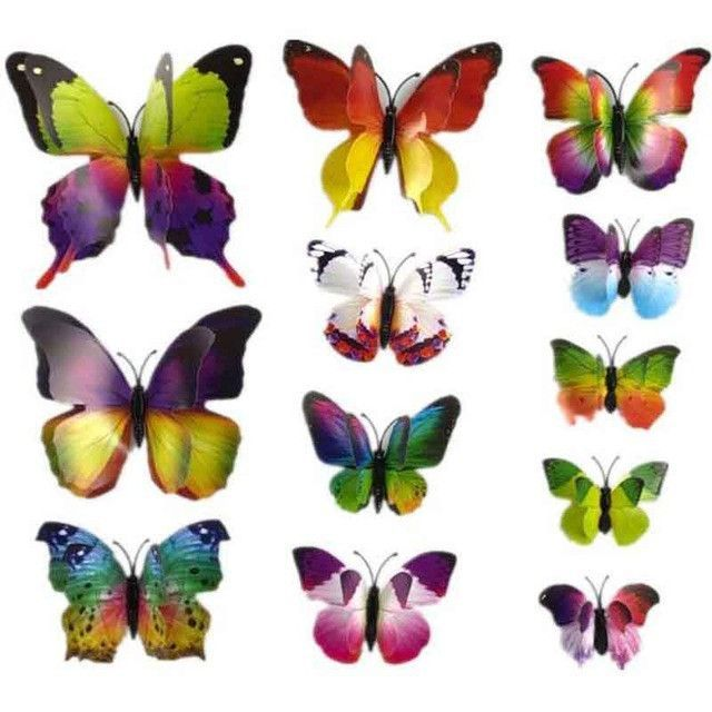 3D Butterfly Wall Stickers | Diy butterfly, Butterfly wall and ...