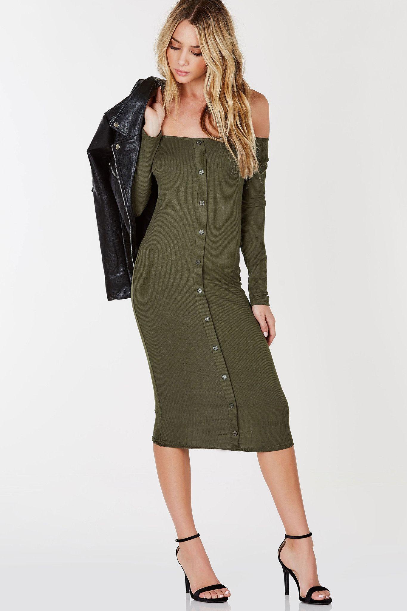 7b23074493cc A flattering off shoulder dress