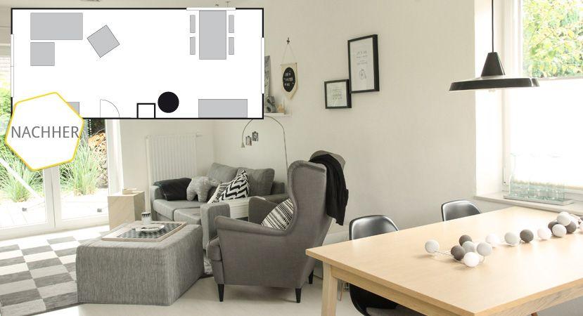 Habt Ihr Auch Einen Raum Den Als Wohnzimmer Und Esszimmer Nutzt Kerstin
