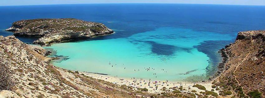 Rabbit Beach Spiaggia Isola Dei Conigli Lampedusa Wikipedia Sicily Italy Island