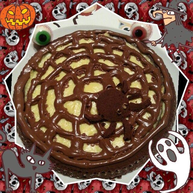 Crostata di ragno per halloween | la mia cucina | Pinterest ...