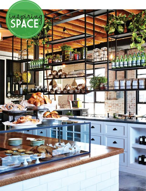 Design Crush The Grounds Rustic Cafe Cafe Interior