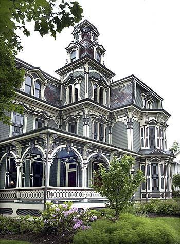 Montgomery Mansion Claysville Pa Built In 1879 1880 By Robert Porter An Owner Of The Local Lumber Yard As A Gift For His Fiancé Prior To Their Pending