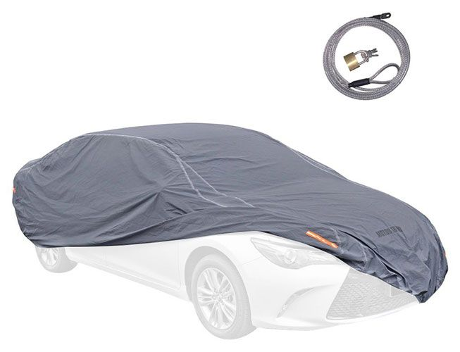Motor Trend 4-Layer Waterproof Outdoor Heavy Duty All Weather Car Cover for Jeep