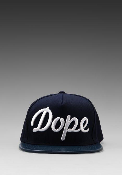 3d54f430c0f Stamp d LA - Dope Hat in Navy White