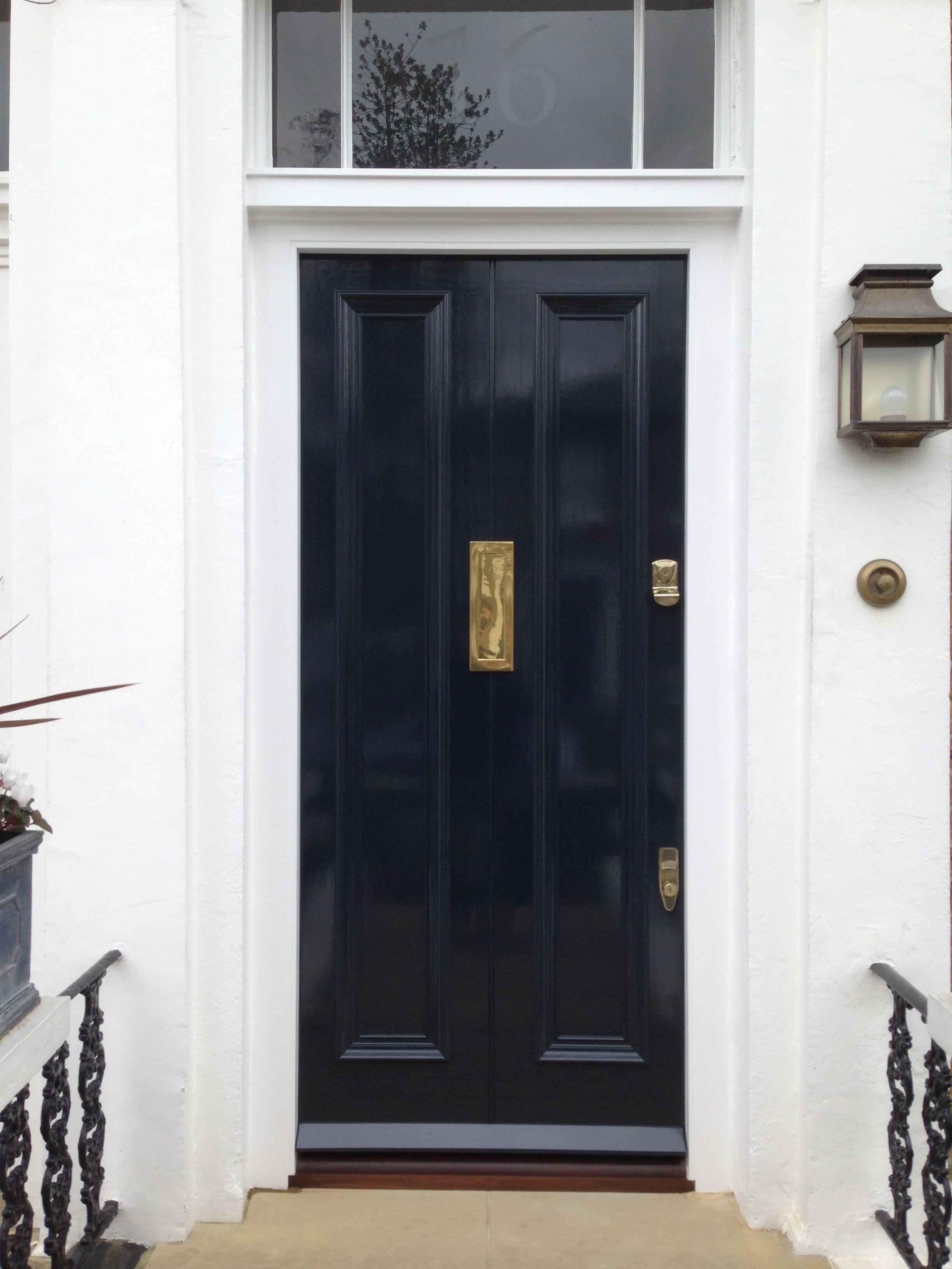 London front door beautifully finished | Front door | Pinterest ...