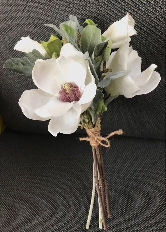 bridesmaid bouquet, wedding, magnolias bouquet, wedding bridesmaids, wedding accessory, silk flowers #weddingbridesmaidbouquets