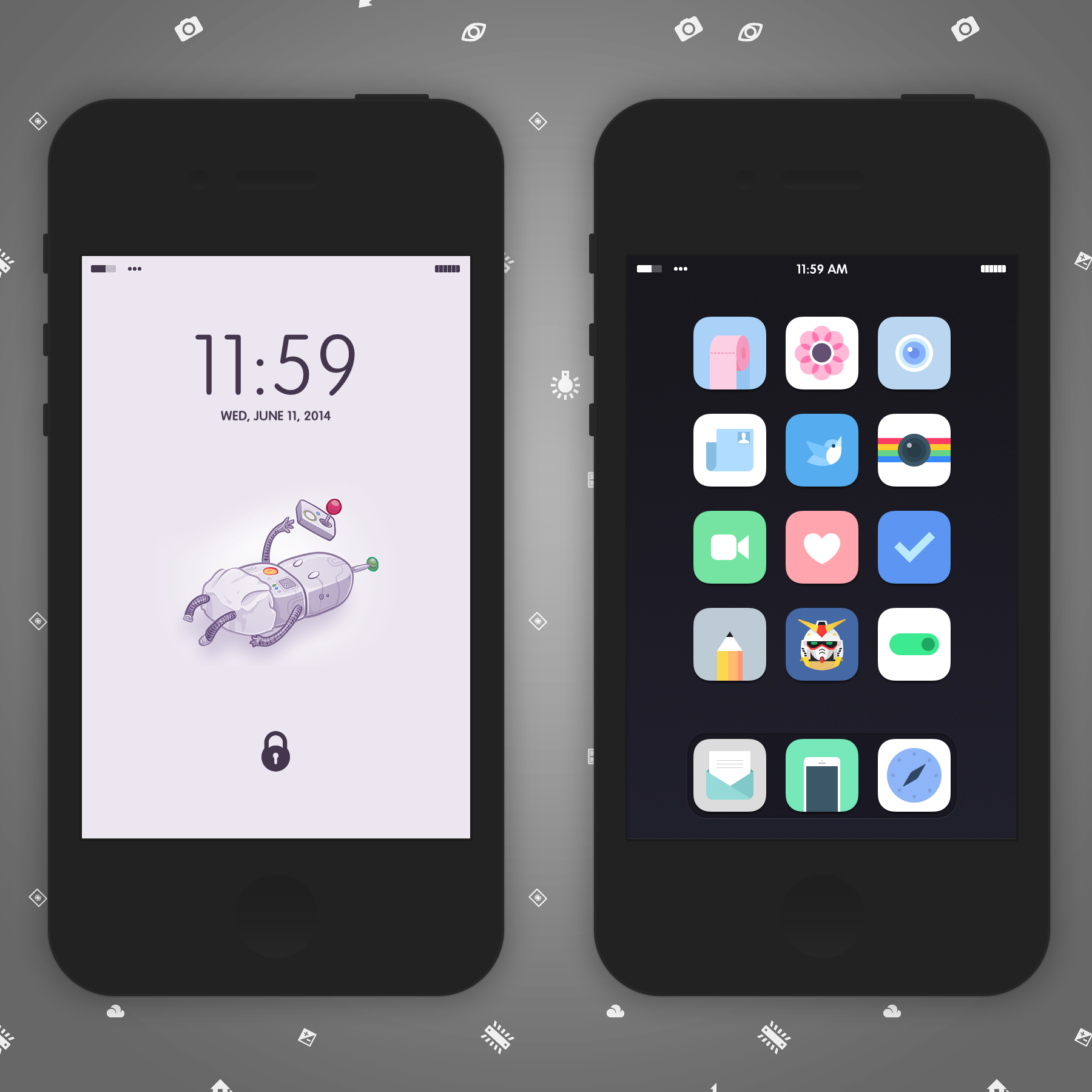 Not The Norm By Delta909 On Deviantart Status Bar Icons Theme Norm