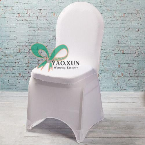 cheap wedding stretch spandex chair cover with strong pocket in
