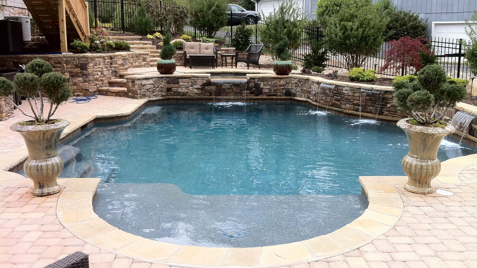 Aqua Design Pools & Spas, LLC. - Natural | Pool ideas | Pinterest ...
