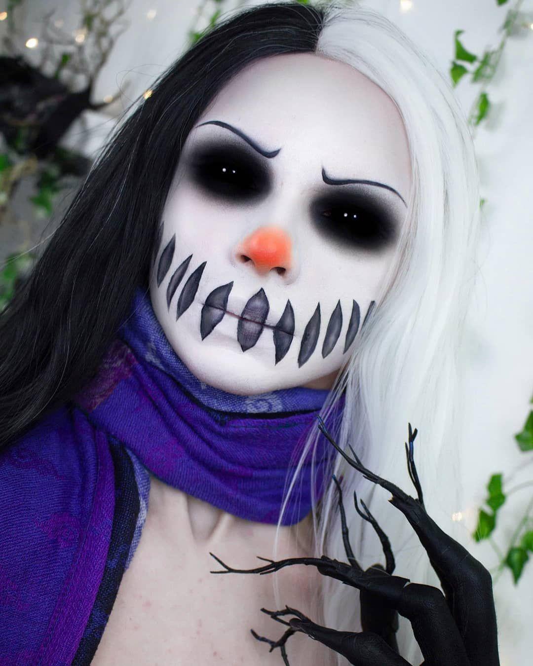 Frosty the Snowman ☠⛄ When u got christmas spirit but you