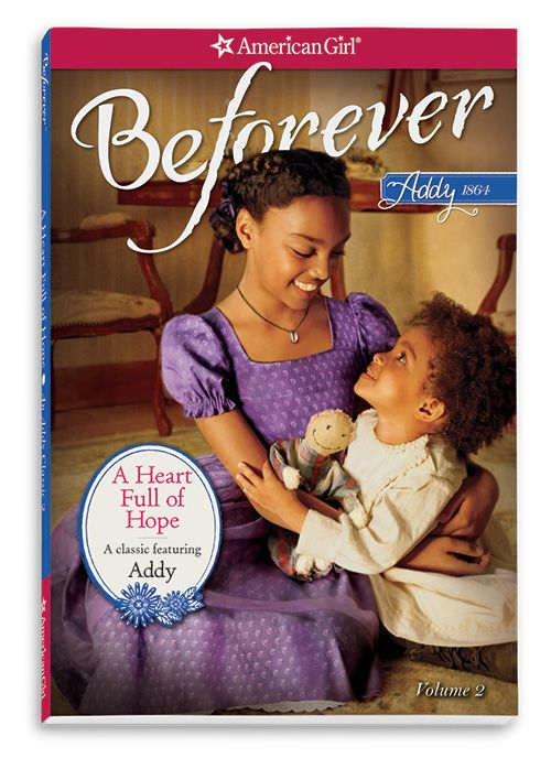 Beforever Addy new meet outfit and book cover American Girl - love the new covers the be forever line is sure to do well when it comes out join the American girl Facebook page for info and the American girl YouTube page for videos