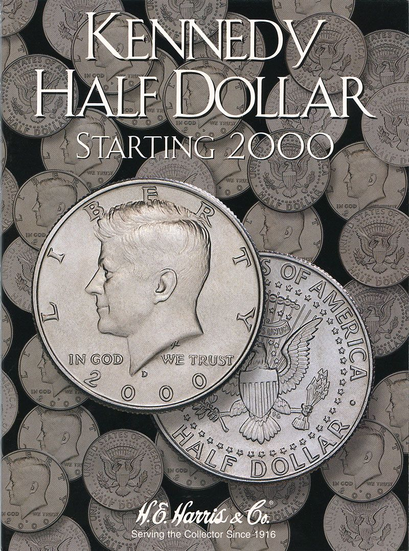 52942kennedy half dollar starting 2000 coinpurse