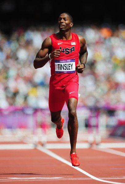 Michael Tinsley-2nd 400m Hurdles. USA.   Ropa de hombre ...