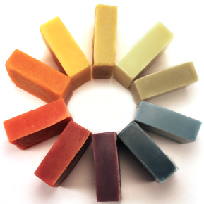 """Coloring Soap Naturally"""" eBook Available Now   Handmade soaps"""