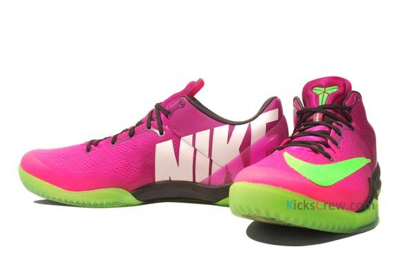 1d0b277c39f9 ... switzerland nike kobe 8 mambacurial new detailed pictures and info red  plum electric green pink flash