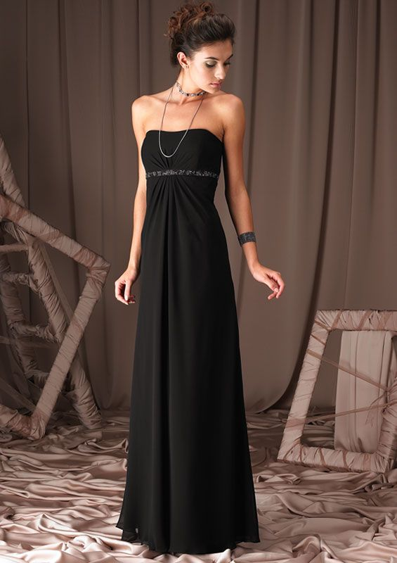1000  images about black evening dress on Pinterest - Chiffon ...