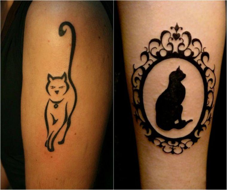 Tatuajes De Gatos Unos Diseños Tiernos Para Las Mujeres Tatuajes