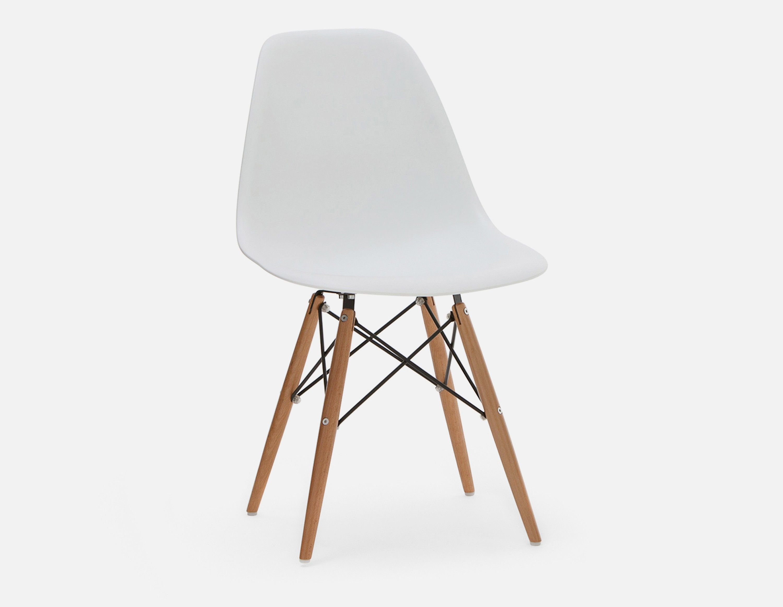 Eiffel Wooden Dining Chair White