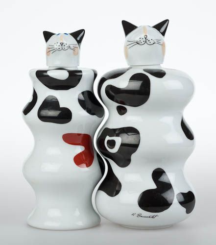 Animal Park Villeroy and Boch Loving Cats by Rosemarie Benedikt - they are actually bottles, WHERE DO I GET THESE?