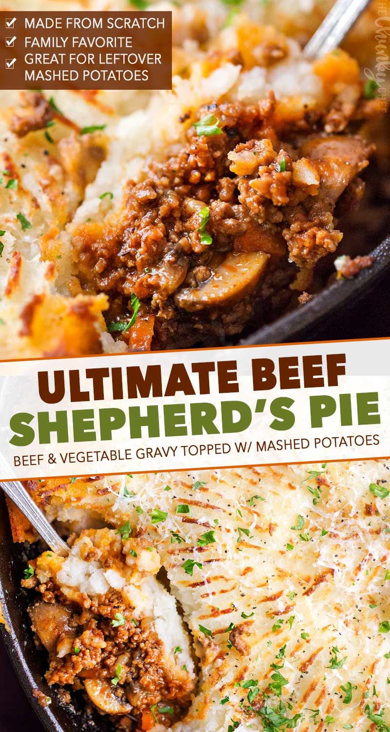 Rich And Flavorful Ground Beef And Vegetable Gravy Is Topped With Fluffy Mashed Potatoes And Baked All In One In 2020 Cottage Pie Recipe Beef Cottage Pie Beef Dinner