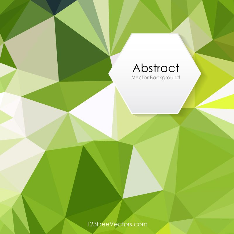 Light Green Polygonal Abstract Background Illustrator Abstract Backgrounds Free Vector Art Illustration