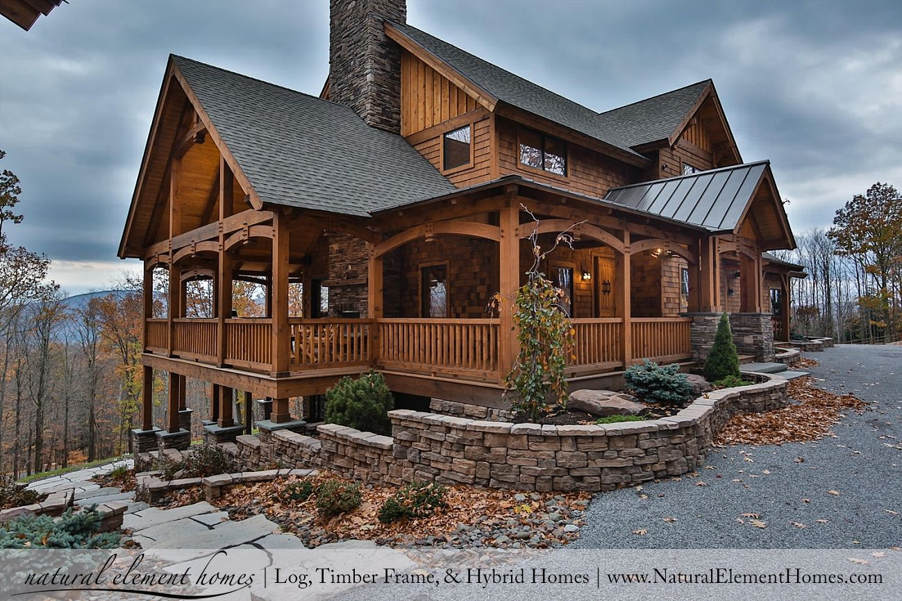 Ravens Nest North Natural Element Homes Country Home