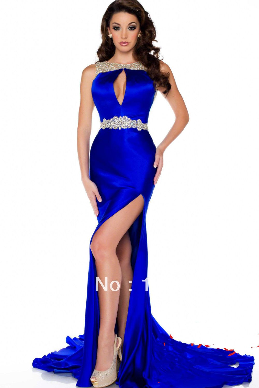 Sexy Blue Prom Dresses