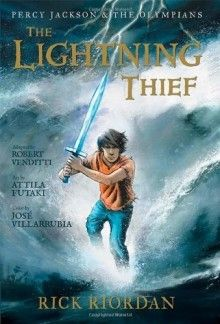 The Percy Jackson And The Olympians Lightning Thief The Graphic