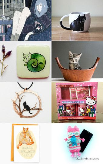 For my cat lady friends by Jan Whittle on Etsy--Pinned with TreasuryPin.com