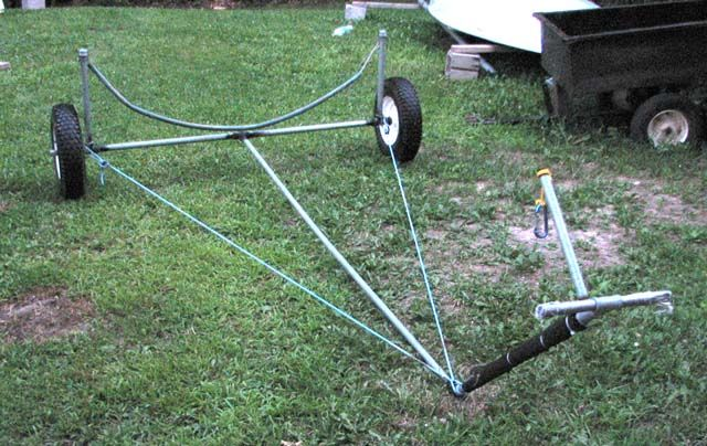 How to make a Sunfish Dolly | Canoeing | Pinterest